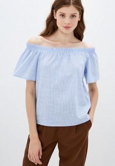 Блуза, Zarina, цвет: голубой. Артикул: ZA004EWJEFR8.