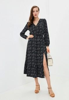 Платье, Zarina, цвет: черный. Артикул: ZA004EWKECN0.