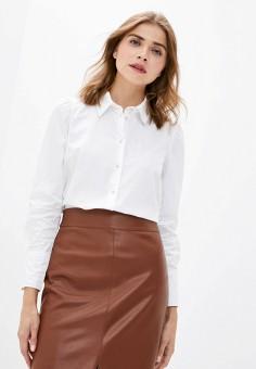Рубашка, Zarina, цвет: белый. Артикул: ZA004EWKECN5. Одежда / Блузы и рубашки