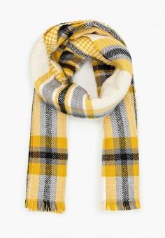 Палантин, Zarina, цвет: желтый. Артикул: ZA004GWHPVC1. Аксессуары / Платки и шарфы