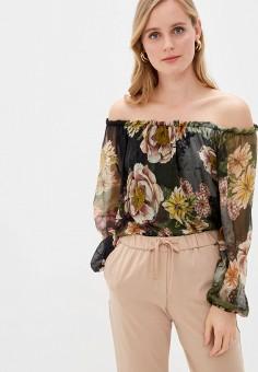 Блуза, Zabaione, цвет: черный. Артикул: ZA014EWJAJN4. Одежда / Блузы и рубашки