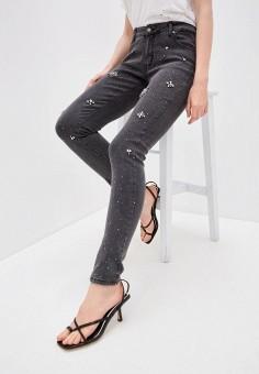 Джинсы, Zabaione, цвет: черный. Артикул: ZA014EWJCSI8. Одежда / Джинсы / Узкие джинсы