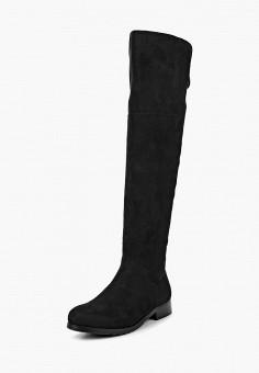 Ботфорты, Zenden Woman, цвет: черный. Артикул: ZE009AWCHTG8. Обувь / Сапоги / Ботфорты