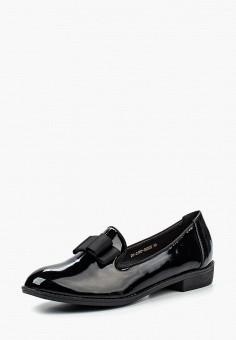 Лоферы, Zenden Woman, цвет: черный. Артикул: ZE009AWPRF68. Обувь / Туфли / Лоферы