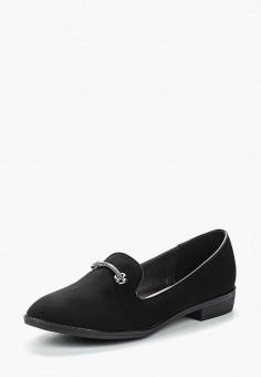 Лоферы, Zenden Woman, цвет: черный. Артикул: ZE009AWVSS40. Обувь / Туфли / Лоферы