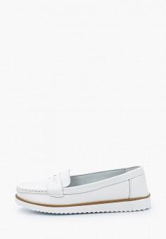 Мокасины, Zenden Comfort, цвет: белый. Артикул: ZE011AWHIJW1. Обувь / Мокасины и топсайдеры