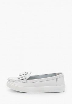Мокасины, Zenden Comfort, цвет: белый. Артикул: ZE011AWHIJW3. Обувь / Мокасины и топсайдеры