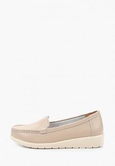 Мокасины, Zenden Comfort, цвет: бежевый. Артикул: ZE011AWHIJW5. Обувь / Мокасины и топсайдеры