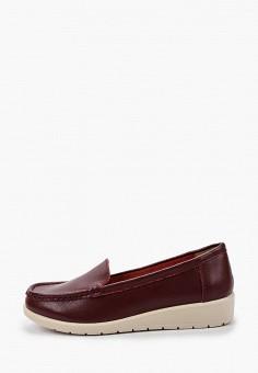 Мокасины, Zenden Comfort, цвет: бордовый. Артикул: ZE011AWHIJW6. Обувь / Мокасины и топсайдеры