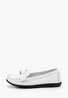 Мокасины, Zenden Comfort, цвет: белый. Артикул: ZE011AWHIJW8. Обувь / Мокасины и топсайдеры
