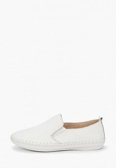 Слипоны, Zenden Comfort, цвет: белый. Артикул: ZE011AWIRSM3. Обувь / Слипоны