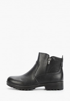 Ботинки, Zenden Collection, цвет: черный. Артикул: ZE012AWFYBG6. Обувь / Ботинки / Высокие ботинки