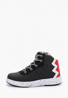 Ботинки, ZeBra, цвет: черный. Артикул: ZE218ABGBSV0. Мальчикам / Обувь / Ботинки