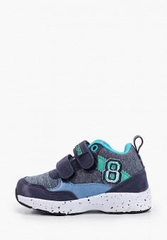 Кроссовки, ZeBra, цвет: синий. Артикул: ZE218ABIFNE4. Мальчикам / Обувь / Кроссовки и кеды