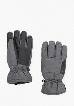 Перчатки, Ziener, цвет: серый. Артикул: ZI003DMHIEZ0. Аксессуары / Перчатки и варежки