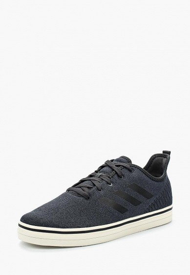 Купить Кеды adidas - цвет: черный, Индонезия, AD002AMALQX4