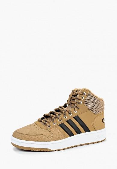 Купить Кеды adidas - цвет: бежевый, Индонезия, AD002AMCDJB6