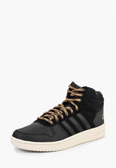 Кеды adidas - цвет: черный, Индонезия, AD002AMCDJC5  - купить со скидкой