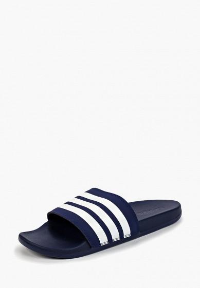 Купить Сланцы adidas - цвет: синий, Индия, AD002AMCDJO6