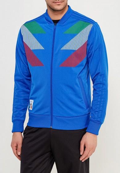 Купить Олимпийка adidas - цвет: синий, Китай, AD002EMALTF3