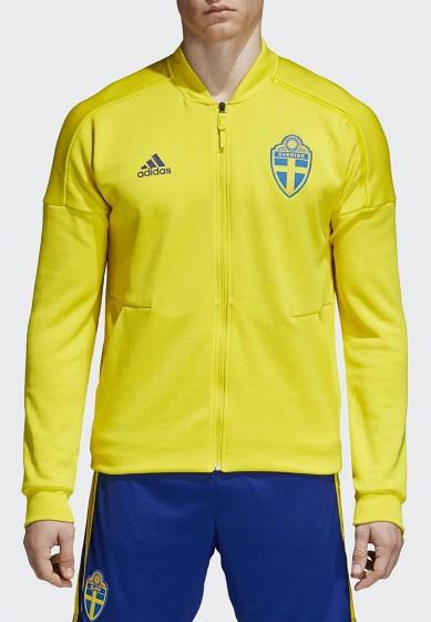 Купить Олимпийка adidas - цвет: желтый, Вьетнам, AD002EMALTG9