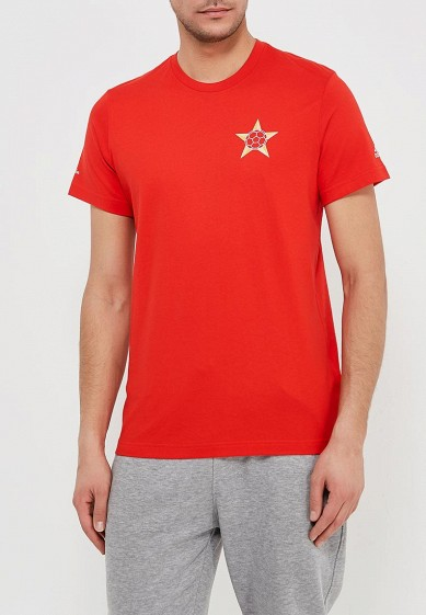 Купить Футболка adidas - цвет: красный, Пакистан, AD002EMALUJ4