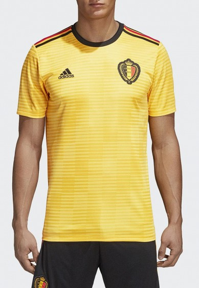 Купить Футболка спортивная adidas - цвет: желтый, Вьетнам, AD002EMALUJ8