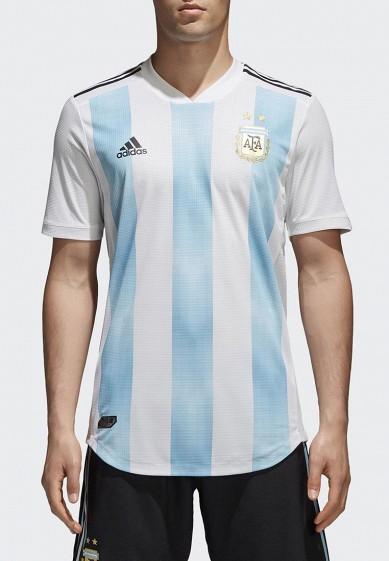 Купить Футболка спортивная adidas - цвет: белый, Таиланд, AD002EMALUK2