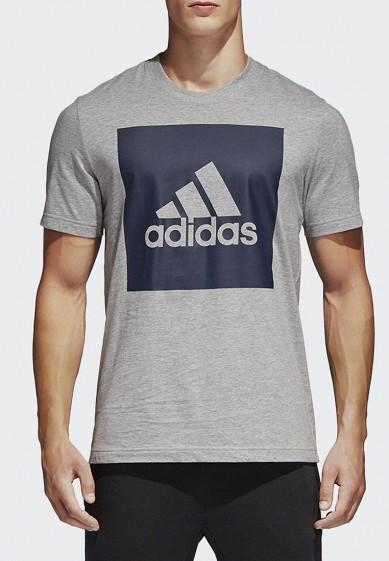 Купить Футболка adidas - цвет: серый, Индонезия, AD002EMAMBK1