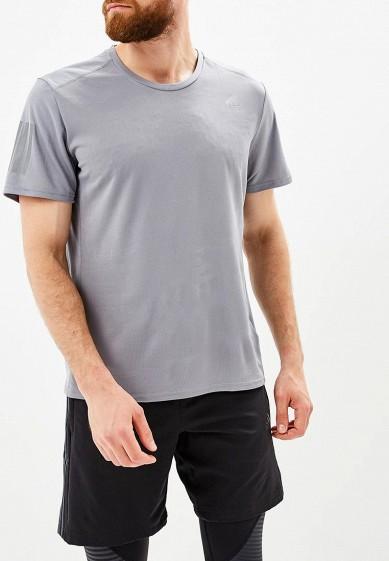 Купить Футболка спортивная adidas - цвет: серый, Индонезия, AD002EMCDGE0