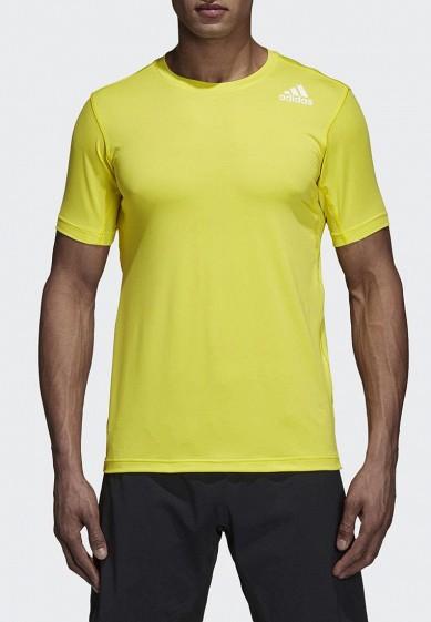 Купить Футболка спортивная adidas - цвет: желтый, Филиппины, AD002EMCDGK1