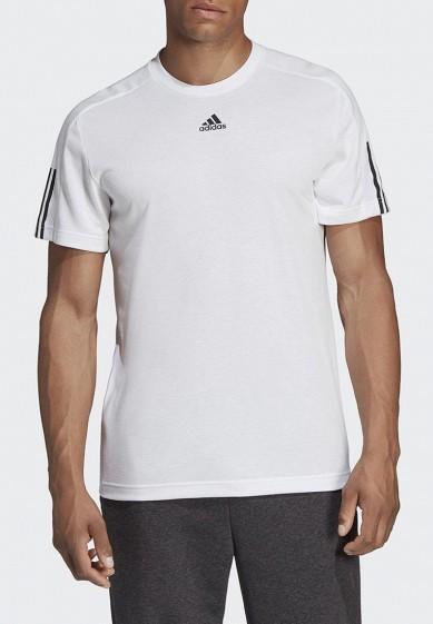 Купить Футболка adidas - цвет: белый, Вьетнам, AD002EMCDGP2