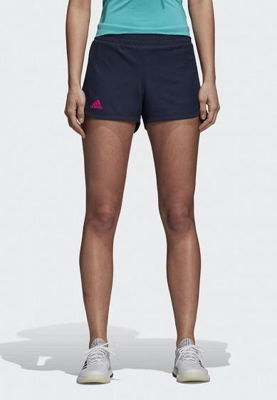 Купить Шорты спортивные adidas - цвет: синий, Индонезия, AD002EWCDHK0