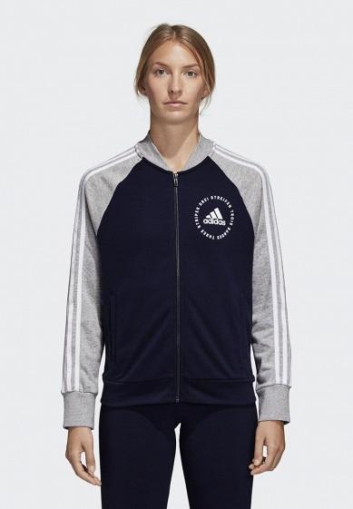 Купить Олимпийка adidas - цвет: синий, Китай, AD002EWCDHV5