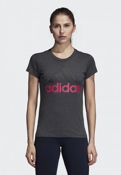 Купить Футболка adidas - цвет: серый, Китай, AD002EWCDHW6