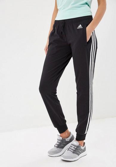 Купить Брюки спортивные adidas - цвет: черный, Индонезия, AD002EWCDIM3