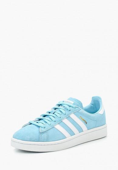 Купить Кеды adidas Originals - цвет: голубой, Вьетнам, AD093AWUNT76