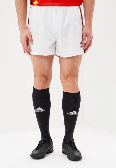 Купить Шорты спортивные adidas Originals - цвет: белый, Китай, AD093EMALOB8