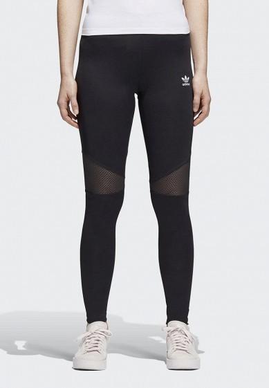 Купить Леггинсы adidas Originals - цвет: черный, Камбоджа, AD093EWALOP0