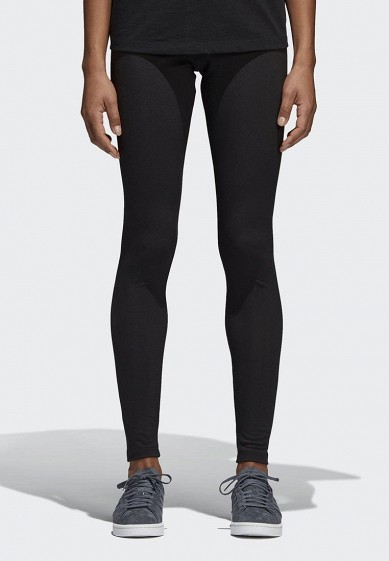 Купить Леггинсы adidas Originals - цвет: черный, Камбоджа, AD093EWALPC2
