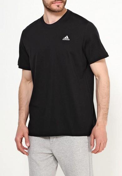 Купить Футболка adidas - цвет: черный, Индонезия, AD094EMUOE80