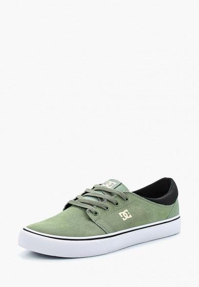 Купить Кеды DC Shoes - цвет: зеленый, Вьетнам, DC329AMAKBJ8