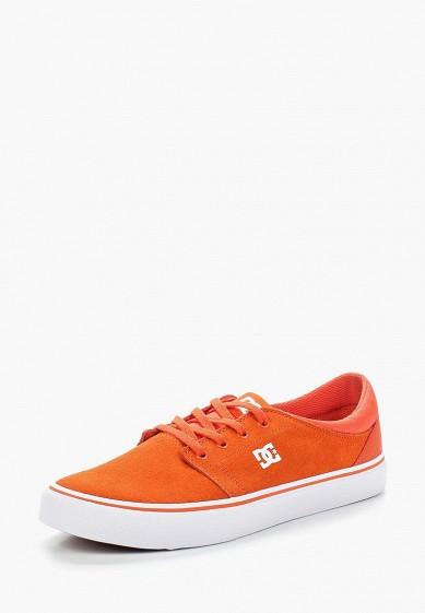 Купить Кеды DC Shoes - цвет: оранжевый, Вьетнам, DC329AMAKBK0