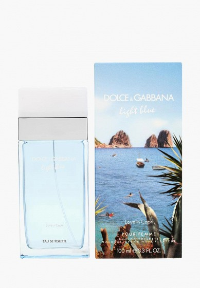 Туалетная вода Dolce&Gabbana Light Blue Love In Capri 100 мл