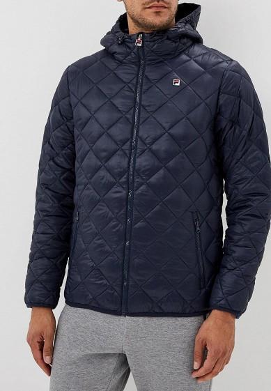 Купить Куртка утепленная Fila - цвет: синий, Китай, FI030EMCPQZ0