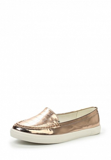 Слипоны LOST INK MAEY LOAFER PLIMSOLL - ROSE GOLD
