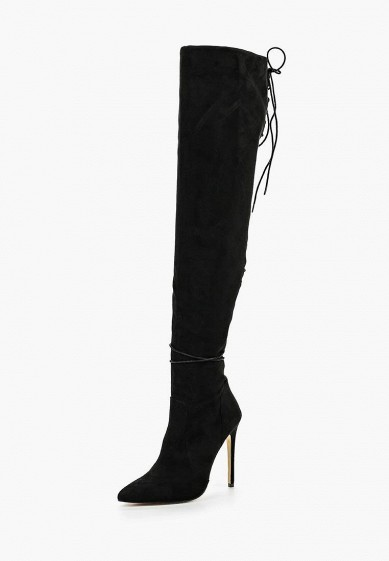 Ботфорты LOST INK GINGER LACE BACK OVER THE KNEE BOOT