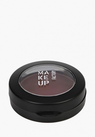 Тени для век Make Up Factory Матовые одинарные Mat Eye Shadow тон 63 дымчатый баклажан