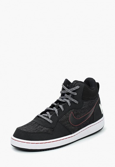 Кеды Nike Nike Court Borough Mid SE Boys' Shoe (3.5y-7y)