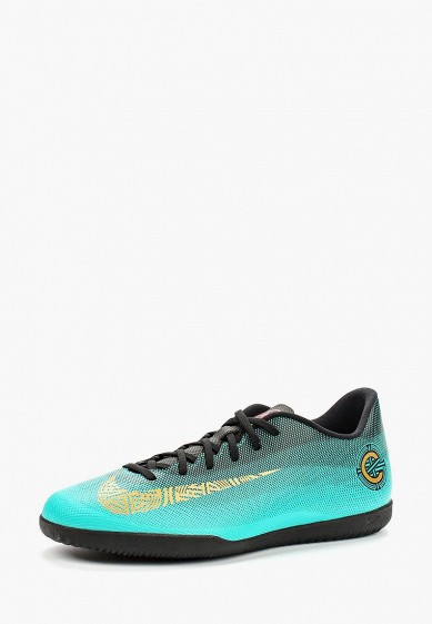 Купить Бутсы зальные Nike - цвет: бирюзовый, Вьетнам, NI464AMBBNO4